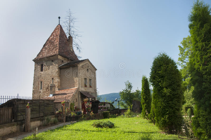 Medieval house royalty free stock image
