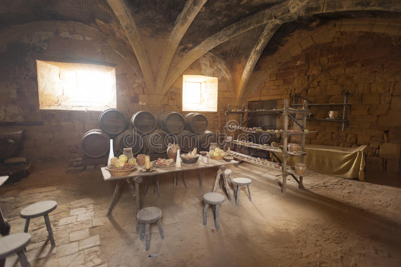 Medieval Kitchen Stock Photography Image 27147152