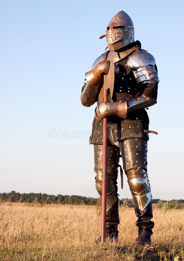 Download Medieval knight stock image. Image of chivalry, battle - 12959555