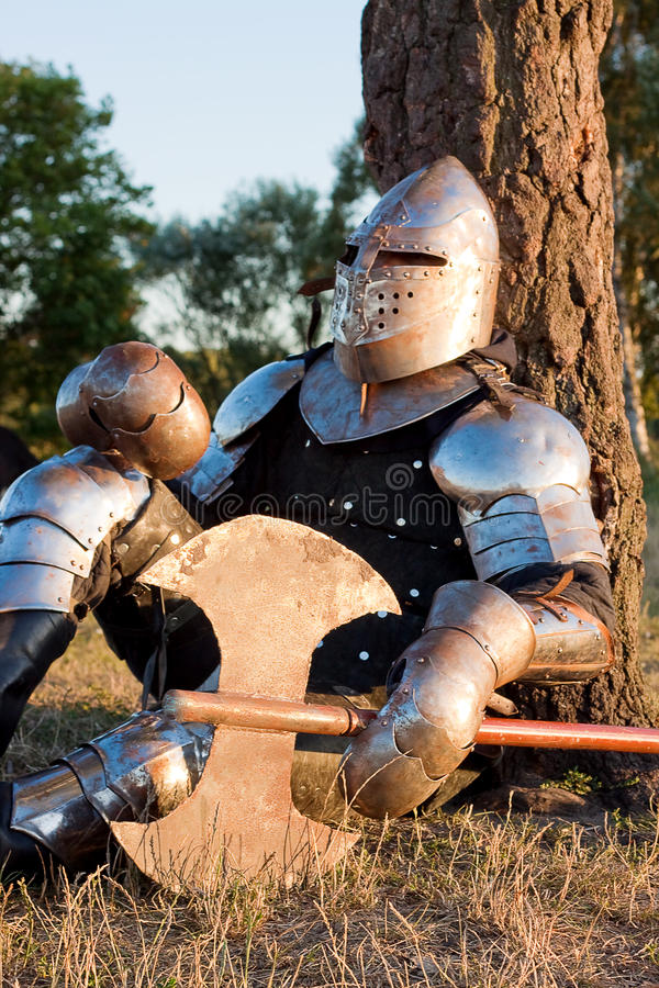 Download Medieval knight stock image. Image of fantasy, bodyguard - 12959615