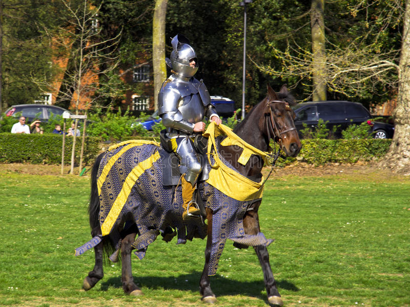 Download Medieval knight editorial stock photo. Image of duelist - 24155303