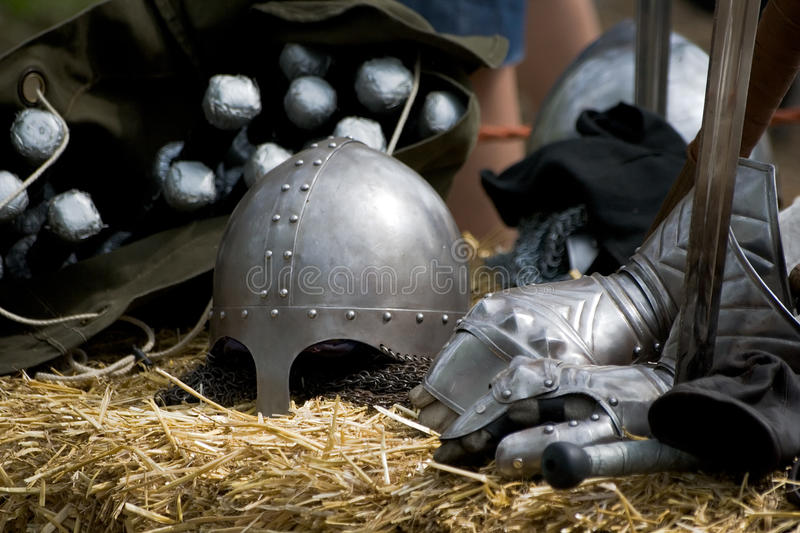 Download Medieval Knight Equipment Royalty Free Stock Photos - Image: 14032968