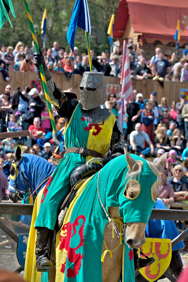 Download Medieval Knight On Horseback Stock Photo - Image: 24627282