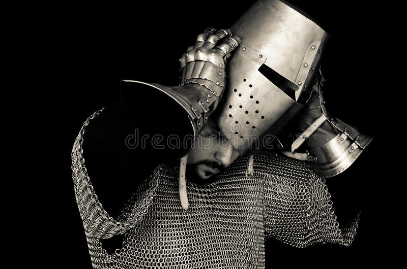 Download Medieval Knight Removing Helmet Stock Photo - Image of protector english 30387194 & Medieval Knight Removing Helmet Stock Photo - Image of protector ...