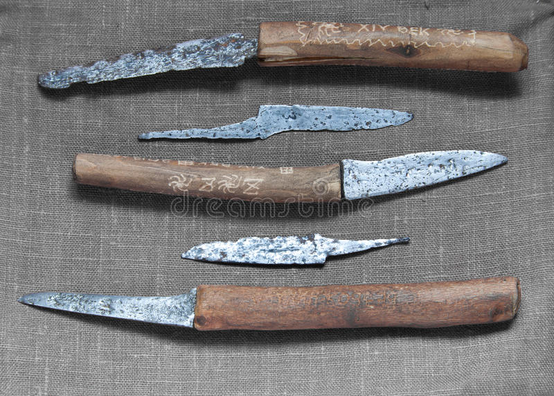 Medieval Knives Stock Image. Image Of Knife, Medieval