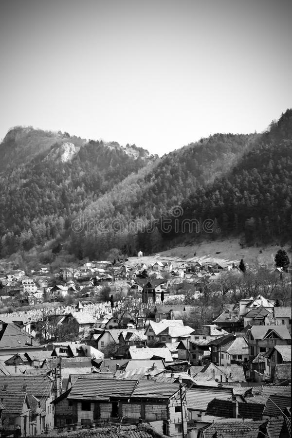 Medieval Mountain Village Stock Photos