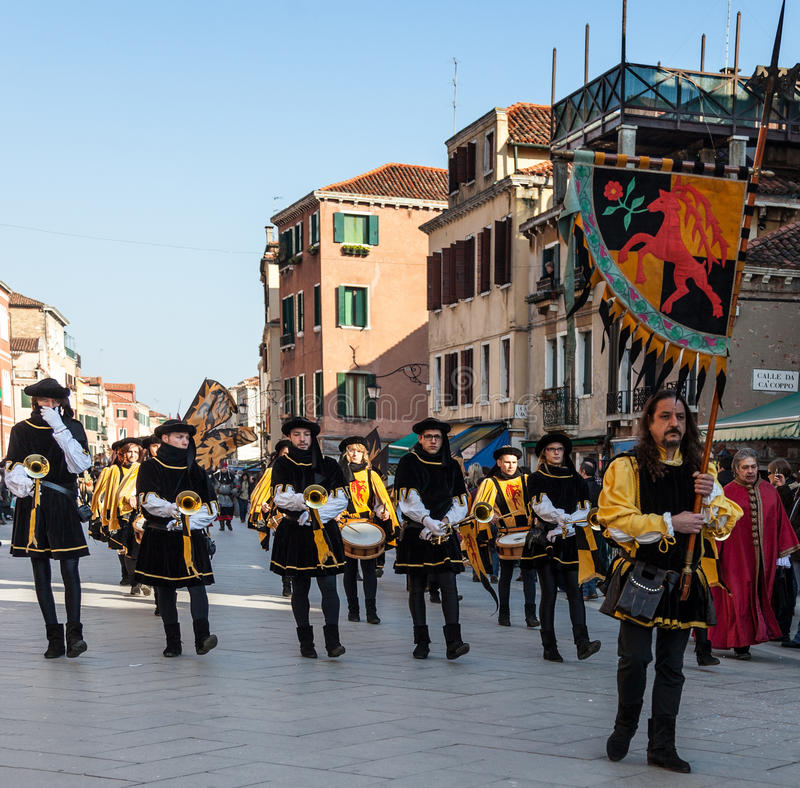 Download Medieval Parade editorial stock image. Image of orchestra - 27772934