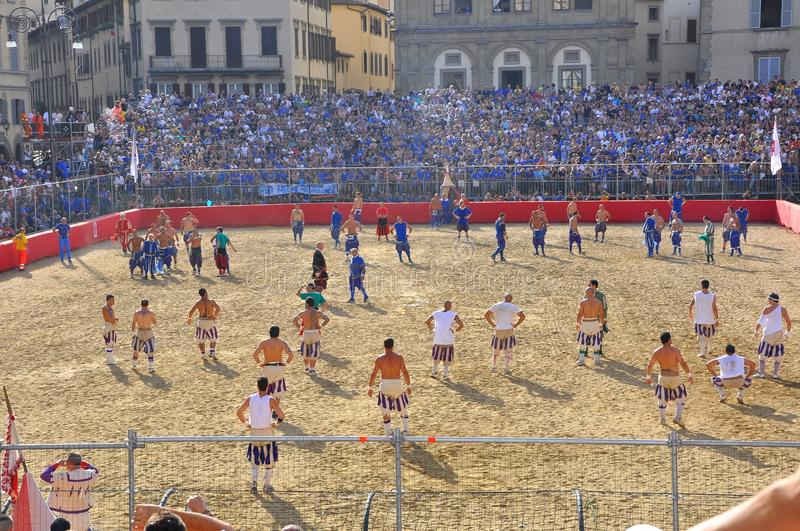 Download Medieval Reenactment Of Football Editorial Photo - Image of celebration, history: 20047761