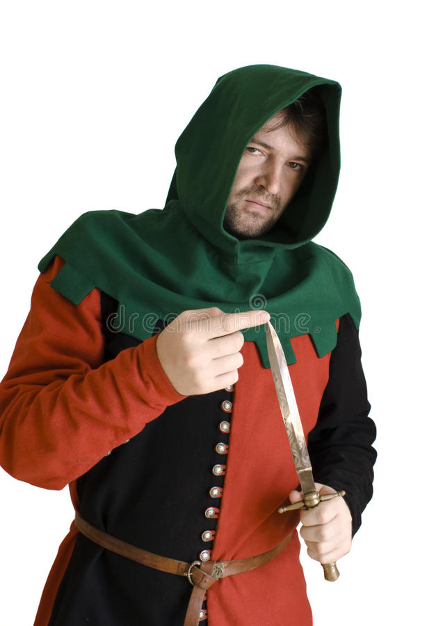Download Medieval robber stock image. Image of sharp, extortion - 10434315