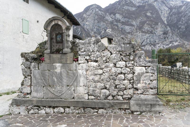 Medieval ruins royalty free stock photos