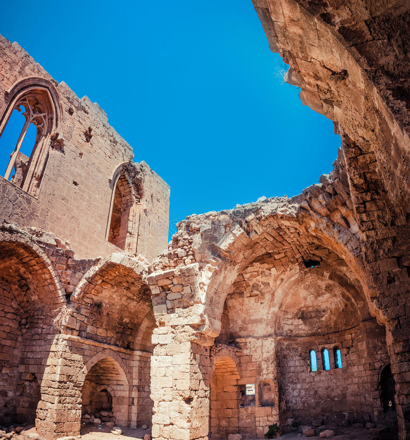 Free Medieval Ruins Of The St. George Of The Greeks Church. Famagusta, Cyprus Stock Image - 54926821