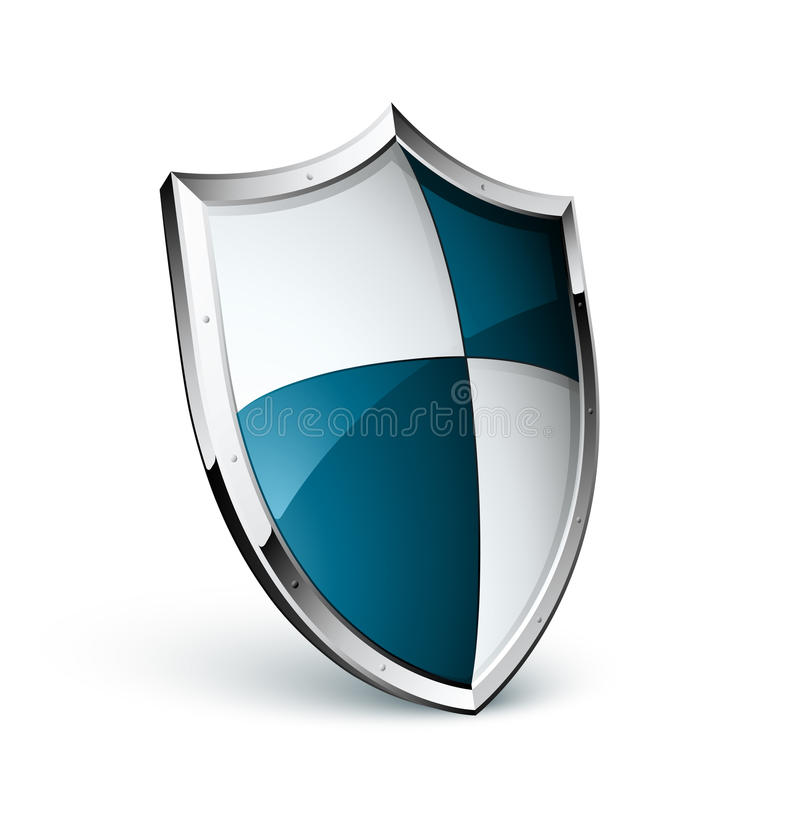 Download Medieval shield stock vector. Image of metallic, fashioned - 15740518