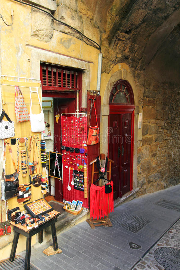 Download Medieval street stock photo. Image of arcade, outdoor - 29627390