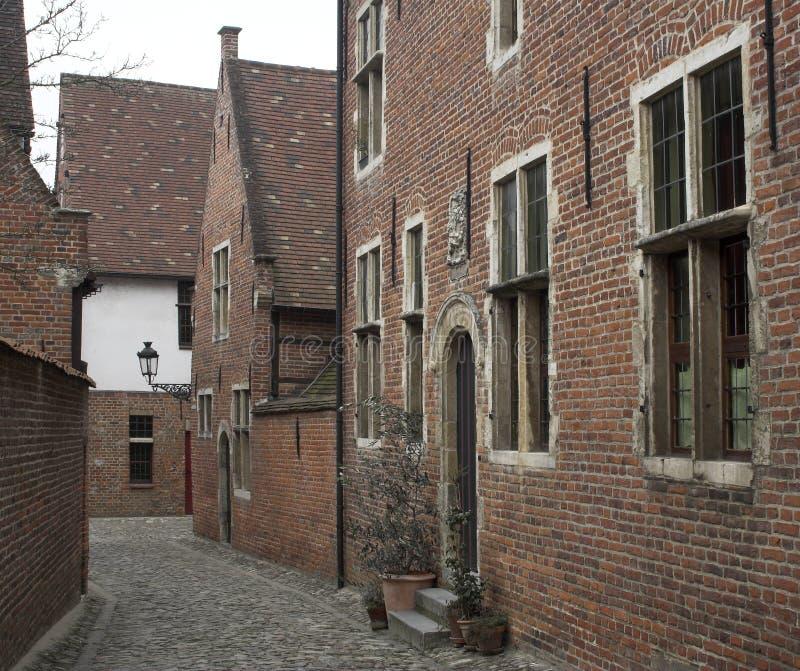 Download Medieval Street (Leuven, Belgium) Stock Photo - Image: 496512