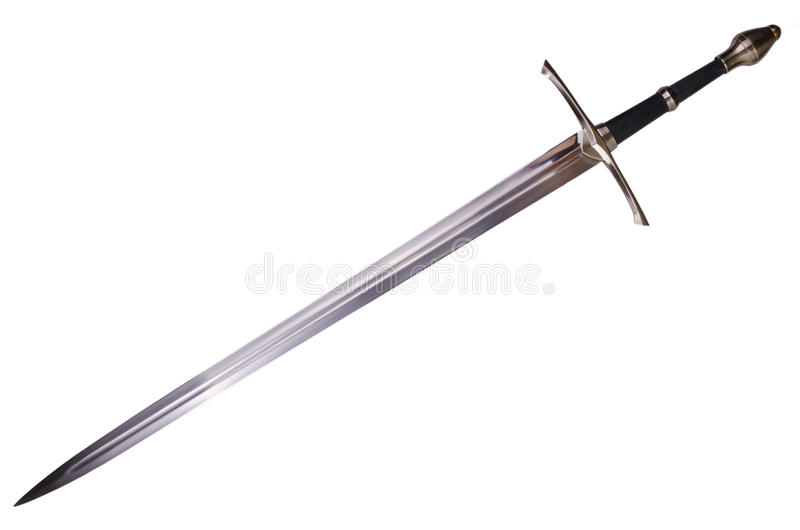 Medieval sword royalty free stock image
