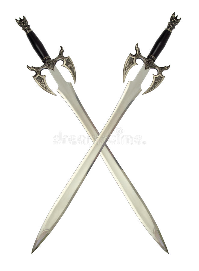 Download Medieval swords stock image. Image of steel, object, middle - 23153507