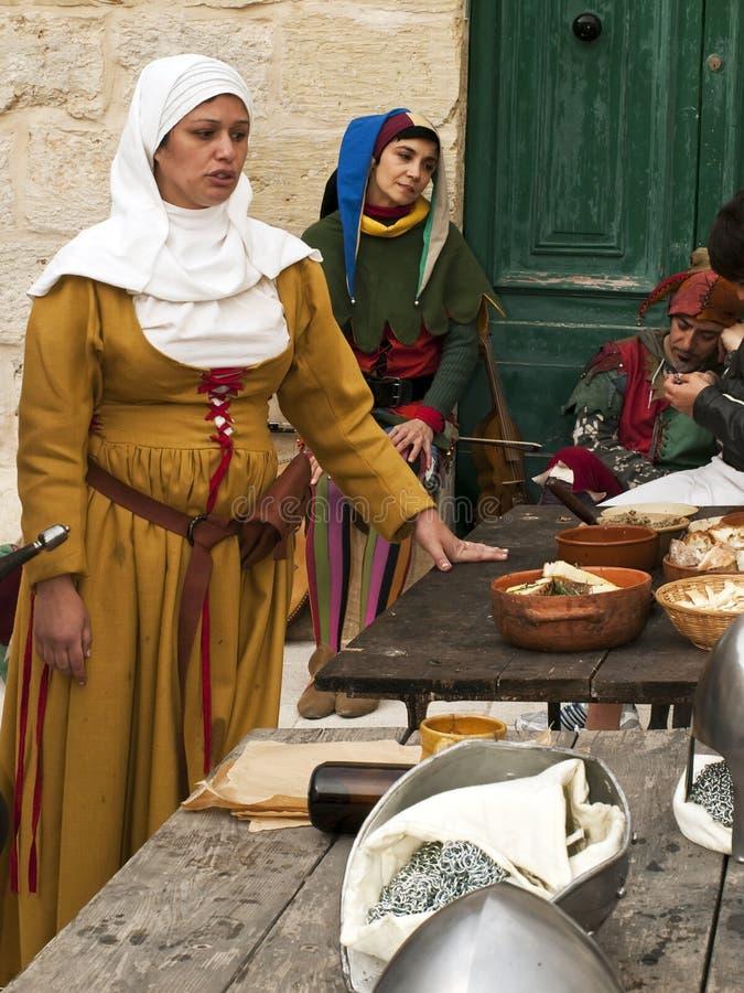 Medieval Tavern Editorial Photo