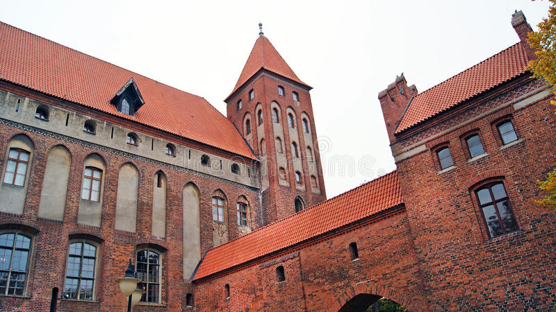 Download Medieval Teutonic Castle In Kwidzyn Stock Image - Image of brick, stone: 28586677