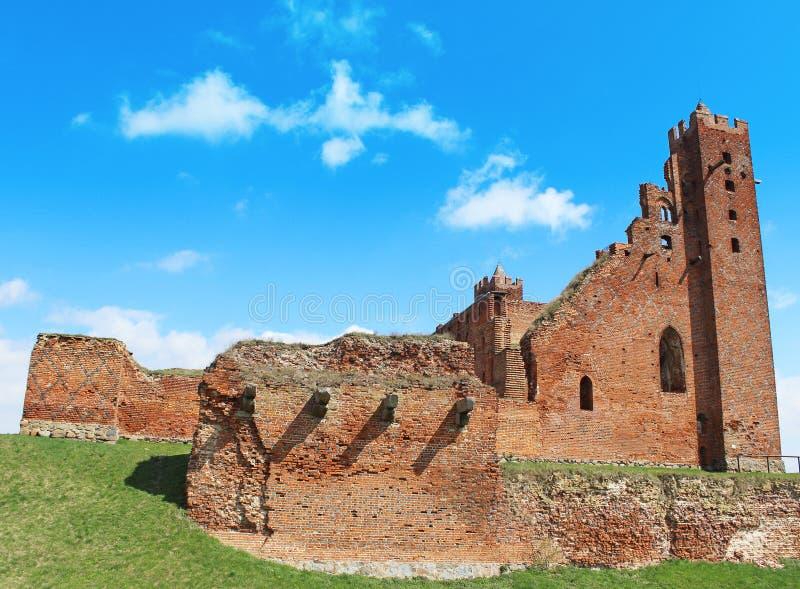 Download Medieval Teutonic Castle In Radzyn Chelminski Stock Image - Image: 30667989