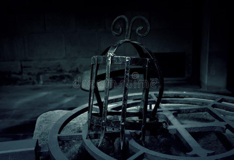 Medieval torture masks stock images