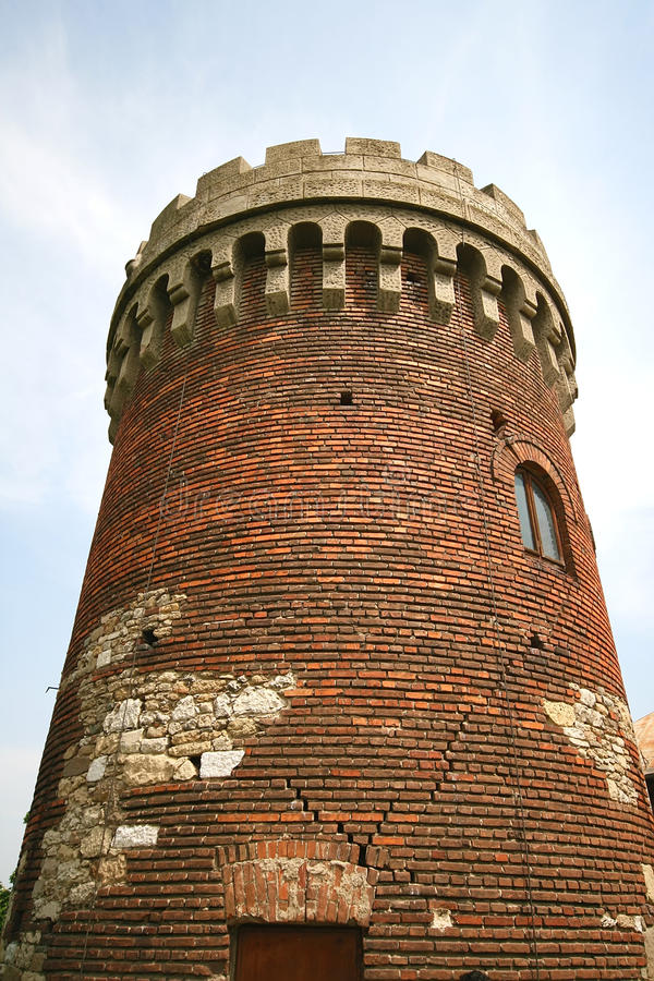 Medieval tower royalty free stock photo