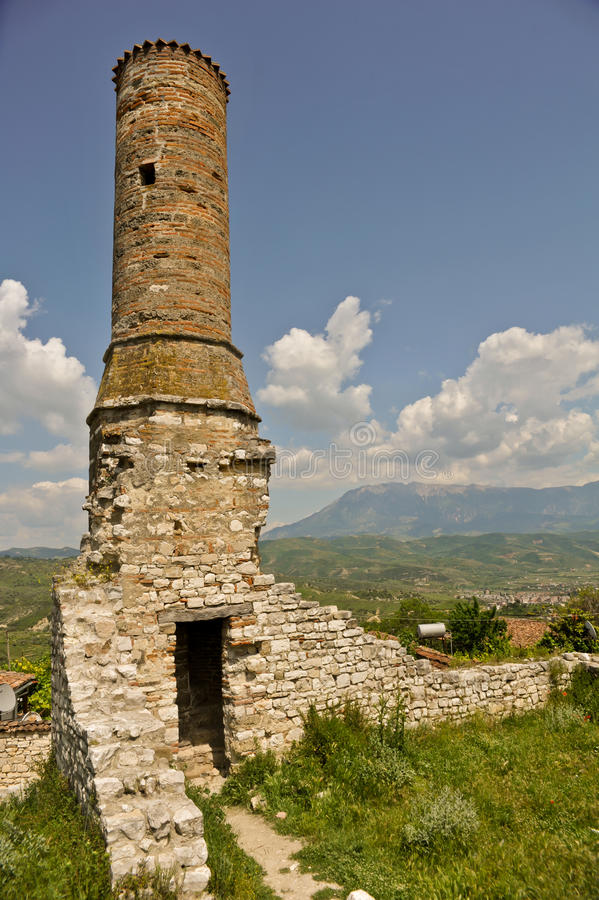 Download Medieval tower stock image. Image of point, albania, observation - 21544001