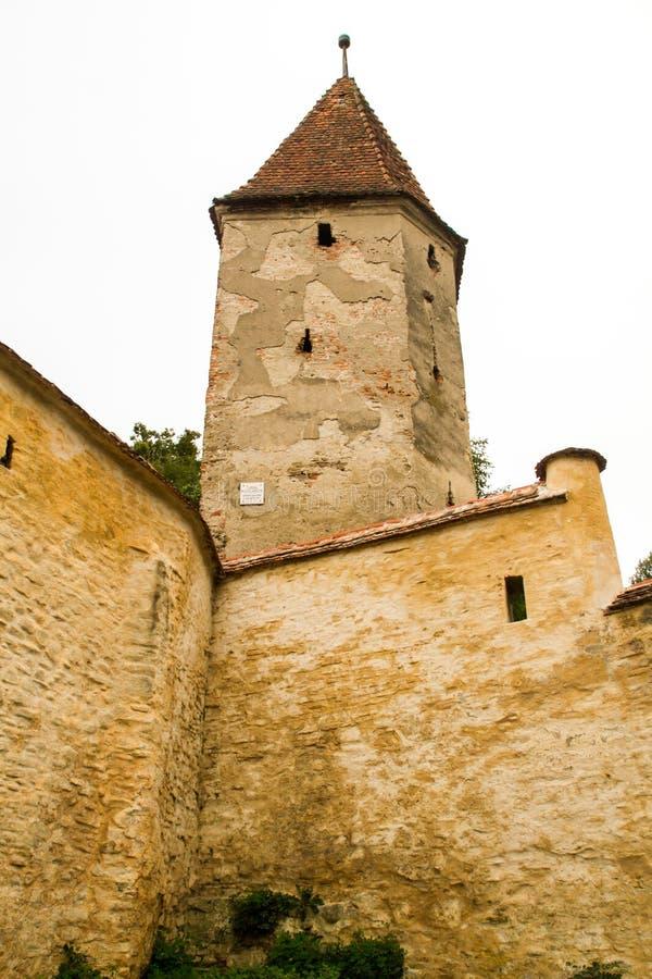 Medieval tower Sighisoara royalty free stock image