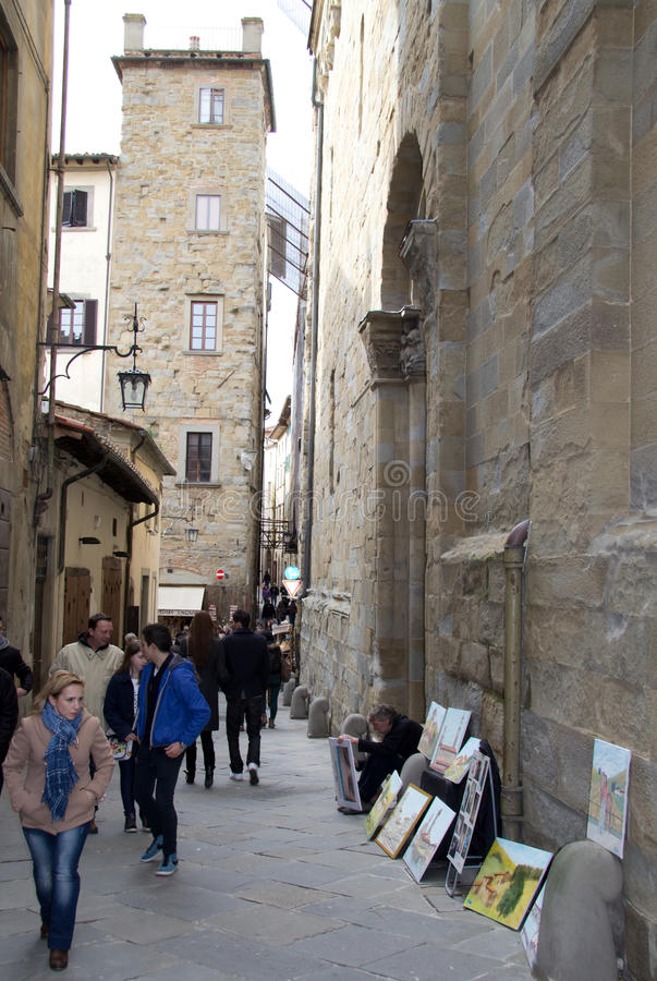 Download The Medieval Town Of Arezzo, Italy Editorial Image - Image: 30731220
