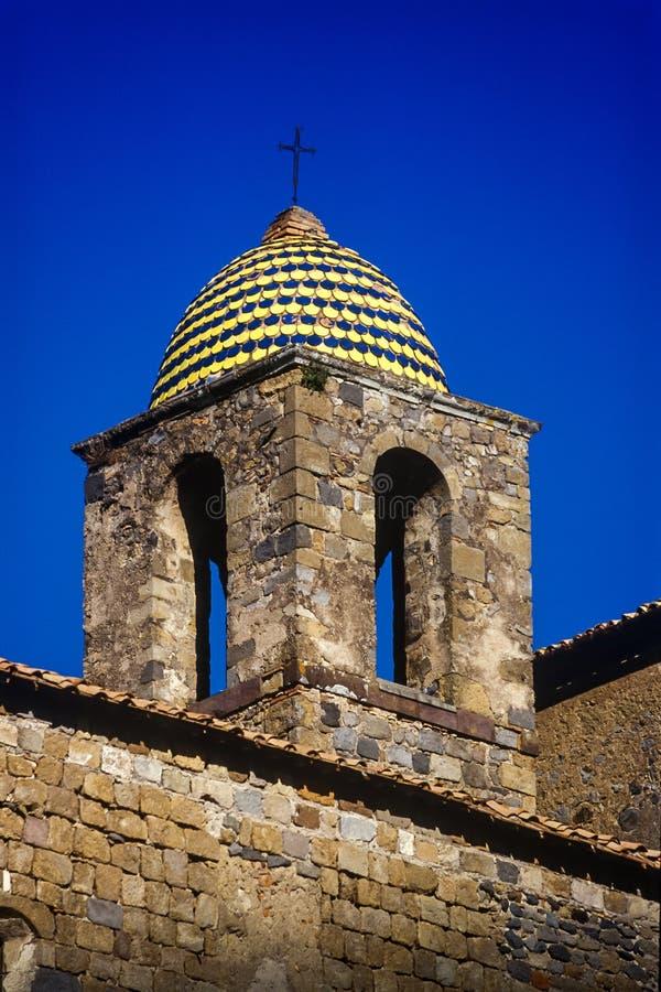 Bolsena, Lazio - Italy. The medieval town with castle on Lake Bolsena, region Latium, central Italy stock image