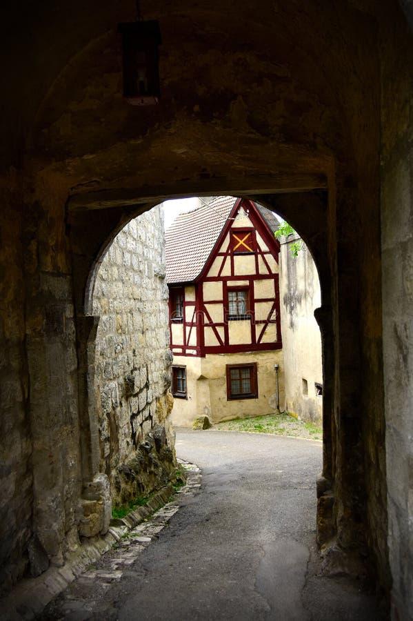 Medieval town of Harburg Germany royalty free stock image