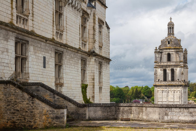 Medieval town of Loches. France royalty free stock photography
