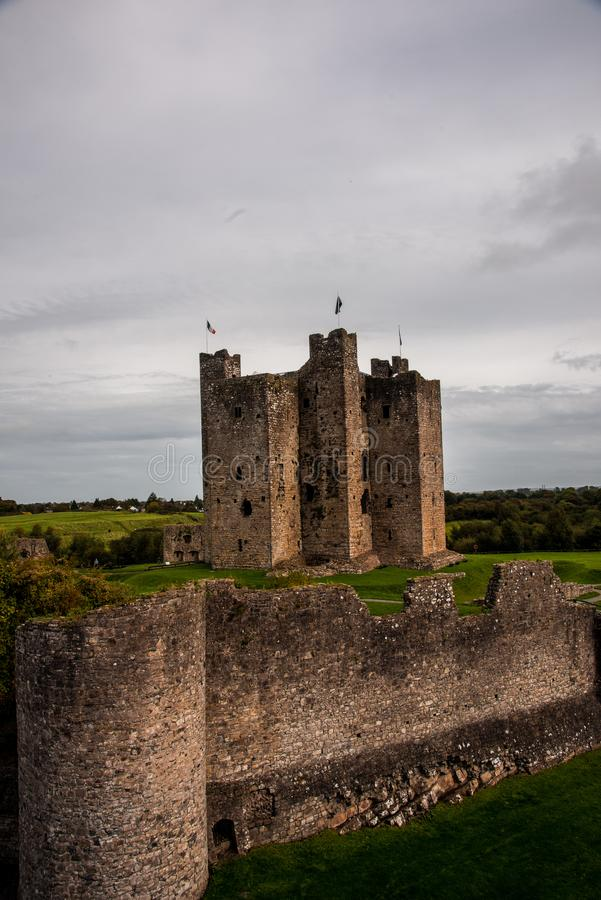 Medieval Trim Castle, Ireland royalty free stock image