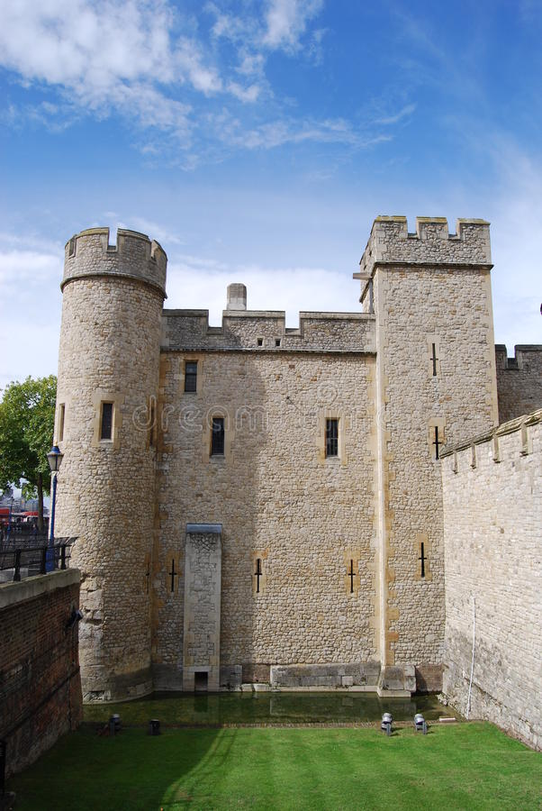 Medieval Turrets At Tower Of London Stock Photography