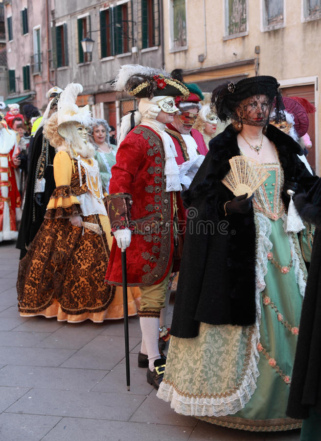 Download Medieval Venetian parade editorial stock image. Image of fashion - 23035229