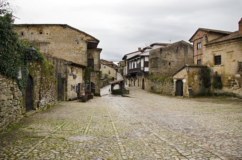 Download Medieval Village stock image. Image of building, door - 28983879