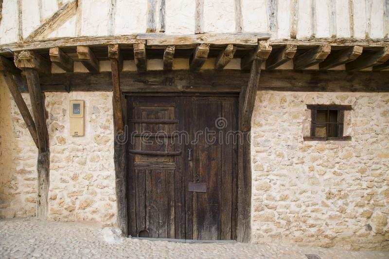 Medieval village of Calatanazor in Soria royalty free stock image