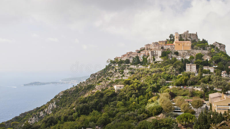 Medieval Village of Eze stock images