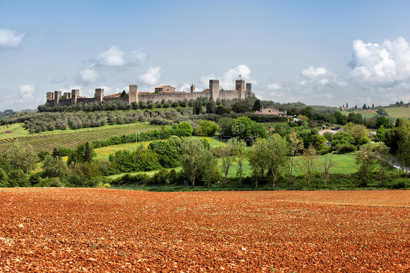 Download The Medieval Village Of Monteriggioni Stock Photo - Image: 30993860