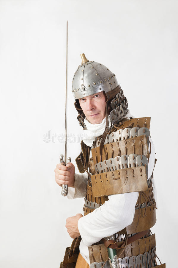 Download Medieval warrior stock photo. Image of noble, ages, metallic - 33492190