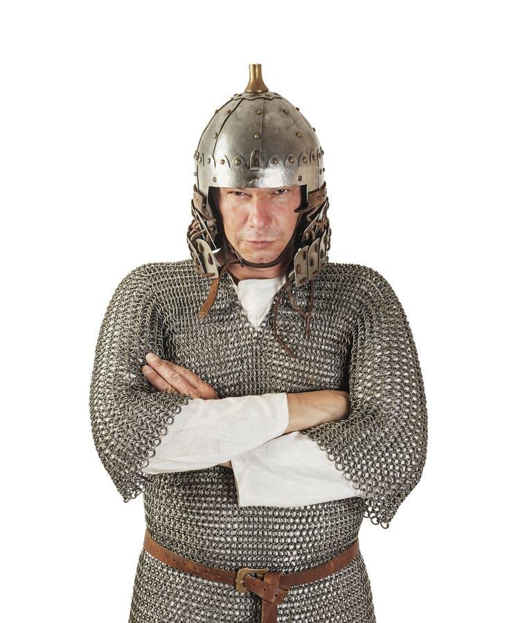 Medieval Warrior Stock Photo