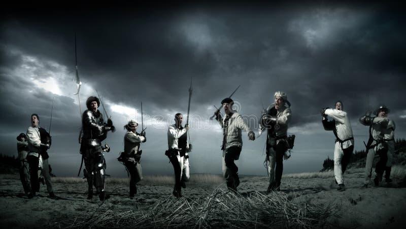 Medieval Warriors Free Public Domain Cc0 Image