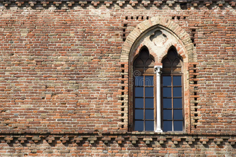 Download Medieval window stock image. Image of museum, lombardy - 30453287