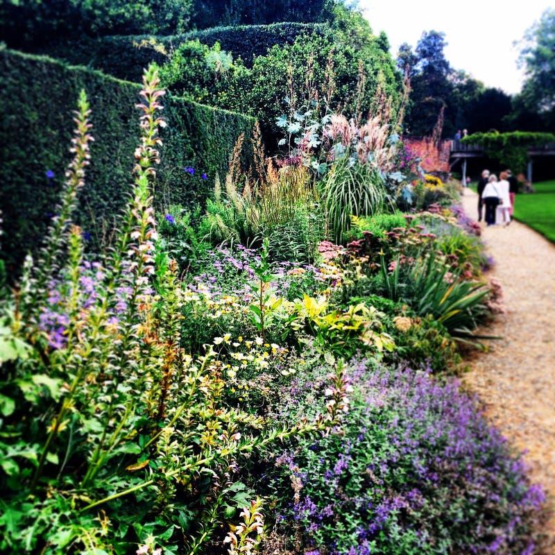 Medievale storico del palazzo di Eltham dei giardini immagini stock libere da diritti