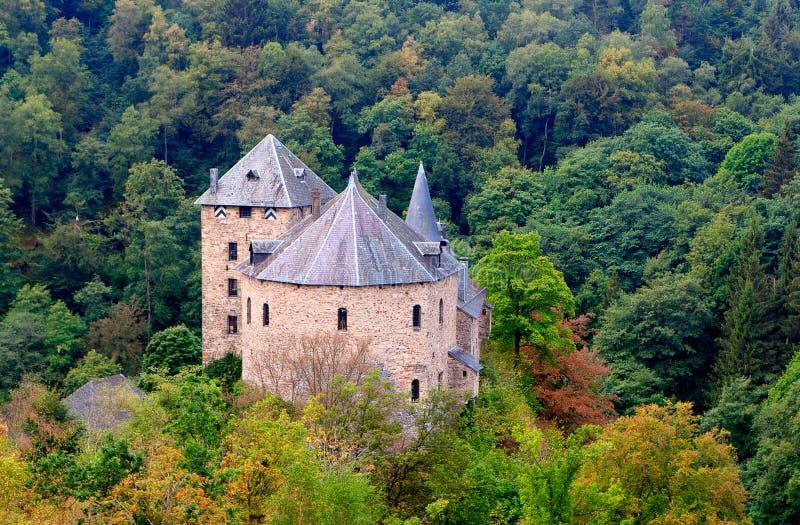 Medieval Reinhardstein castle Eupen, Belgium royalty free stock photos