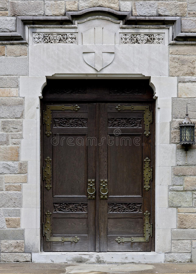 wooden old doors royalty free stock photos
