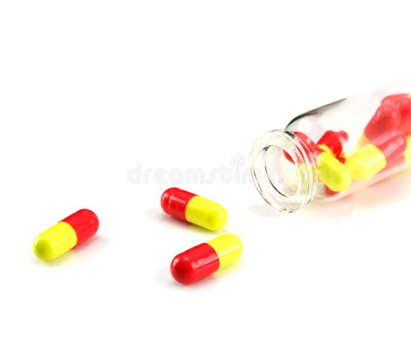 Medikamente getrennt lizenzfreie stockfotos