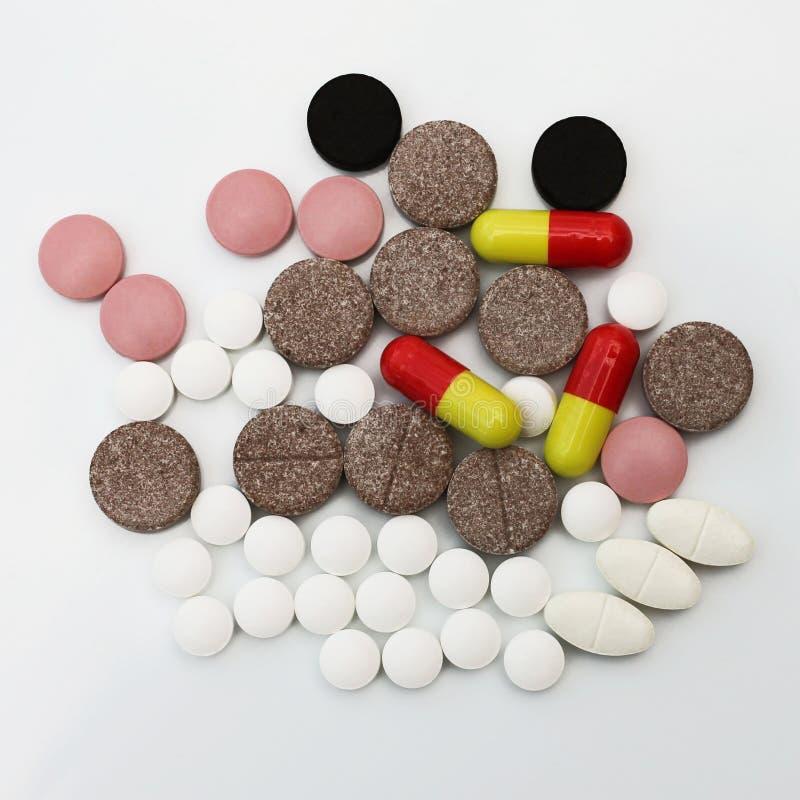 Medikation stockbilder