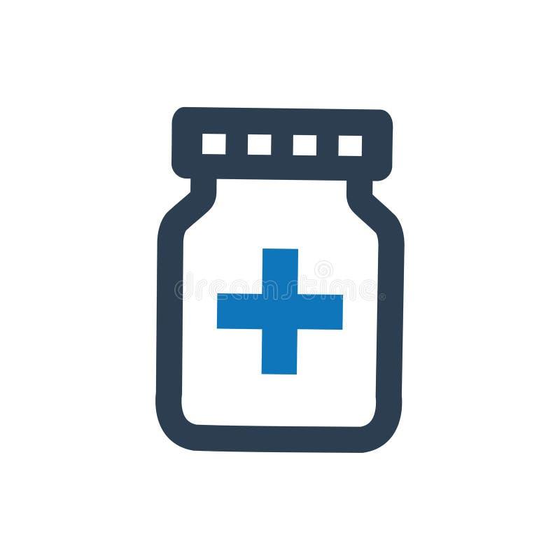 Medikations-Ikone vektor abbildung