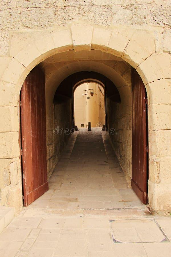 medina πορτών στοκ φωτογραφία
