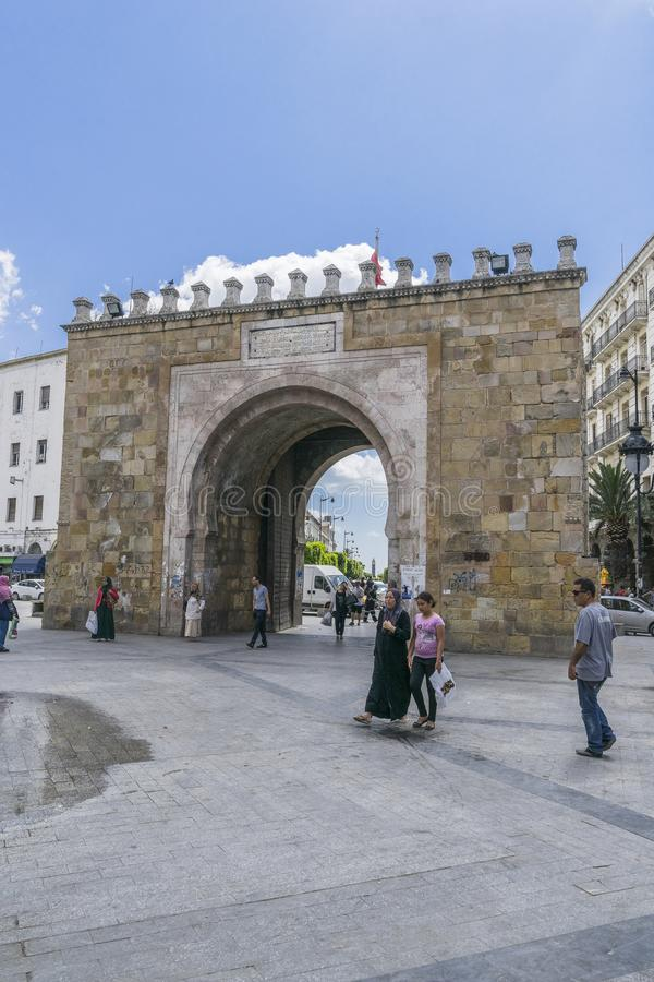 Medina στην Τυνησία στοκ φωτογραφία με δικαίωμα ελεύθερης χρήσης